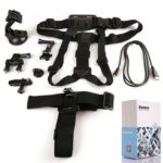 11in1 Chest Head Strap/Suction Cup/Seatpost/Tripod Mount for GoPro Hero 2 3 3
