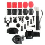 Mounting System Set Kit 27 Elements for GoPro Hero 3  3 2 Camera New