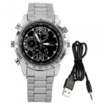 Armbanduhr 16GB 960P Mini DV HD Kamera 1280×960 30fps DVR Video Recorder Watch