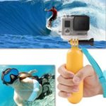 Floating Handle Grip Pole / Floaty Bobber with Strap + Thumbscrew + Wrist Strap Accessory Kit for Gopro Hero1 Hero2 Hero3 Hero 3+ Hero 4 SJCAM Digital Camera