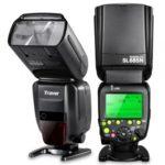 fitTek® Travor Professional i-TTL Master/Slave *High Speed Sync* Fast Recycle Time Speedlite Flash Full Kit for Nikon D80, D90, D800, D700, D7100, D7000, D5200, D5100, D5000, D300, D300S, D3200, D3100, D3000, D200, D70S Digital SLR Cameras and Other Nikon Digital SLR Cameras -Includes: Travor Pro SL685N i-TTL Flash + Universal Wireless Flash Trigger Receiver Set + Hard & Soft Flash Diffusers + Flash Color Filter Kit + Lens Cap + Lens Cap Holder + Professional Cleaning Set + fitTek® Microfiber Cleaning Cloth