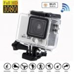 HD 1080P WiFi 2 Inch LTPS LCD Action Sports DV Camera Camcorder Waterproof 120°wide angle
