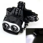 5000LM 2X XM-L T6 LED Rechargeable 18650 USB Headlamp Headlight Head Light Torch