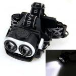 5000LM 2X XM-L T6 LED Rechargeable 18650 USB Headlamp Headlight Head Light Torch