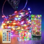 CroLED 30m 300LED Warm white DC12V Copper Wire String Lights Dimming +US Standar