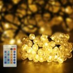 CroLED 15M 100LED Warm-white Bubble-Lights Waterproof Adjustable Light