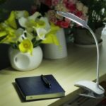 Rechargeable LED Small Clip-on Lamp
