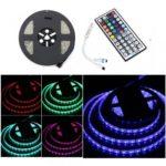 BRELONG 5M 300*5050SMD Waterproof RGB Strip Light +44 keys Lights With Controller DC12V