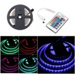 BRELONG 5M 300*5050SMD RGB Strip Lights With Bare Board +24 Keys Controller DC12V