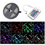 BRELONG 5M 300*5050SMD RGB Lights With Bare Board +24 Keys Controller DC12V