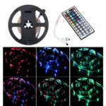 BRELONG 5M 300*3528SMD RGB Strip Lights With Bare Board +44 Keys Controller DC12V