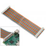 Colorful Expansion GPIO 40P 40Pin Flat Cable DIY Keyes 21cm for Raspberry Pi B +
