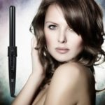 Professional 5 In 1 Multifunction Ceramic Hair Curler Interchangeable Iron Curling Wand Kit Black New Styling Beauty Tools For Lady Fashion
