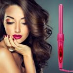 Professional 5 In 1 Multifunction Ceramic Hair Curler Interchangeable Iron Curling Wand Kit Black New Styling Beauty Tools For Lady Fashion Rose Red