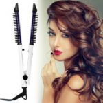 4 in 1 multifunctional hair straightener hair curler