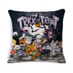 18 x 18 inch Square Halloween Decorative Pillow Cover Case
