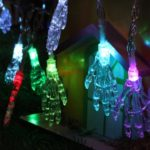 Colorful 10m 100 LEDs Ghost Hand Decorative String Lights Halloween Decoration