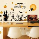 Halloween Theme Wall Décor Stickers DIY Vinyl Wall Art