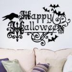 Happy Halloween Wall Art Sticker Waterproof Wall Decal