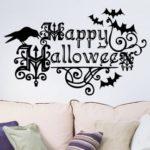 Happy Halloween Wall Art Sticker Waterproof Wall Decal