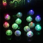 Mini LED Balloon Light Blinking Ball Lamp 100pcs/Pack