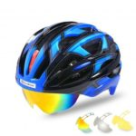 ROCKBROS TK051 Unisex Cycling Helmet with Protective Lens