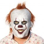 Latex Stephen King's It Clown Halloween Mask