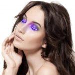 LED Eyelashes Waterproof Glitter Eyeliner for Halloween Gifts