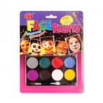 8-Color Body Face Paint Halloween Make-up for Kids