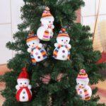 Christmas Decoration Cute Snowman Ornaments