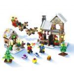 JJRC 1001 741pcs Santa Claus and Elk Building Blocks Christmas Blocks