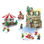 JJRC 1003 1595pcs Merry-Go-Round Building Blocks Christmas Blocks