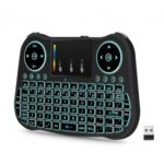 MT08 Mini 2.4GHz Wireless Keyboard with Touchpad Mouse Rainbow Backlight