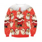 Santa Claus Christmas Sweater for Women