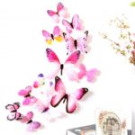 12PCS 3D Butterfly Wall Sticker Decals Wall Decor – Random Color