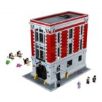 LEPIN Ghostbusters Firehouse Headquarters Building Kit Construction Toys for Kids