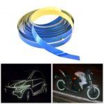 1cm x 5m Reflective Tape for Car Motorcycle Bike – Random Color