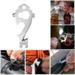 Mini 20 in 1 Multifunctional Stainless Steel EDC Tool Survival Tool