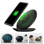 S8 10W Fast Wireless Charger Stand with Cooling Fan
