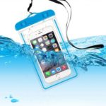 Waterproof Phone Case Pouch with Lanyard for 4-6″ Mobile Phones – Random Color