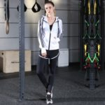 Women's 3pcs Quick Dry Yoga Tracksuit Sports Suit Sports Bra Yoga Pants Hoodie