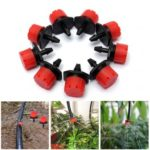 10pcs 1/4″ Irrigation Dripper Watering Emitter Water Dropper