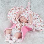 28cm Cute Silicone Reborn Baby Doll Kid Toy