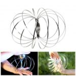 Flow Ring Kinetic Spring Toy Toroflux Trick Interactive 3D Shaped Toy
