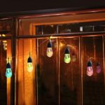 Intelamp YL003-1C Waterproof Solar Powered 12 LED String Light