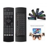 MX3 3 in 1 2.4G Wireless Keyboard Remote Controller Air Mouse with Colorful Backlit