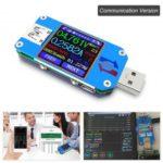 RD UM25C USB 2.0 Type-C Color LCD Voltmeter Ammeter Tester – Communication Version