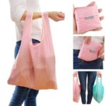 Resuable Folding Shopping Bag Tote Bag – Random Color