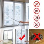 Honana Anti Insect Mosquito Door Window Mesh Screen Sticky Nylon Tape Net