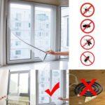 Honana Anti Insect Mosquito Door Window Mesh Screen Sticky Nylon Tape Net